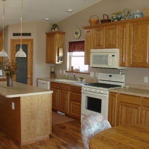 Custom in Cresco, kitchen