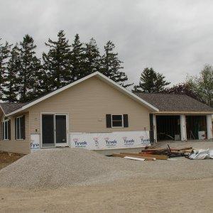 Custom in Cresco, exterior construction