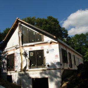 Loft in Hampton, exterior construction
