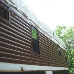 Loft in Hampton, exterior construction siding