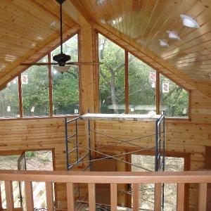 Loft in Hampton, interior construction