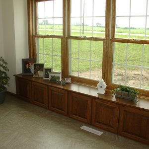Custom in Waucoma, box bay window