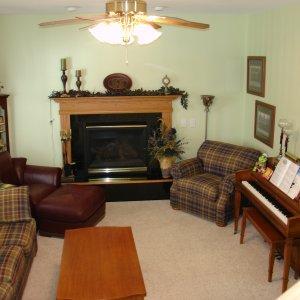 Telmark in Decorah, family room