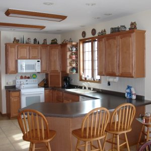 Telmark in Decorah, kitchen