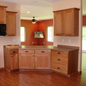 New Model in Decorah, kitchen