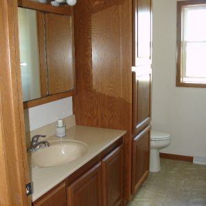 Custom in Decorah, bathroom