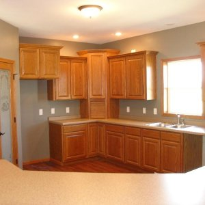 Custom in Decorah, kitchen