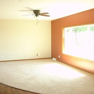 Custom in Decorah, living room
