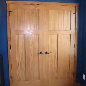 Spectrum in Osage, closet