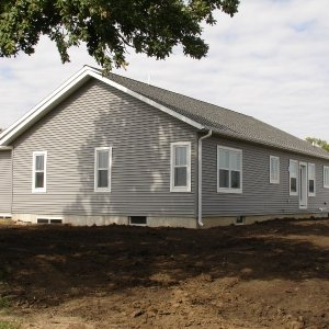 Spectrum in Osage, exterior rear