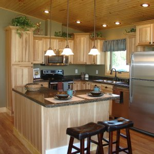 New model in Marshfield, kitchen