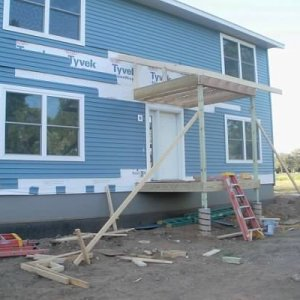 Two-Story in Waucoma, porch