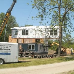 Two-Story in Waucoma, set