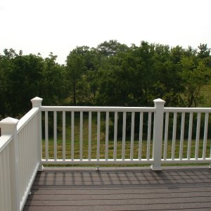 Brookdale in Dorchester, deck