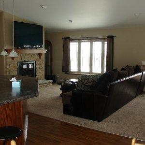 Custom in Ossian, living room
