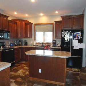 Cambridge in Evansdale, kitchen