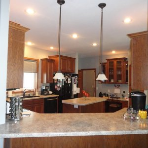 Cambridge in Evansdale, kitchen opening