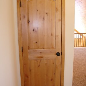 Chalet in Detroit Lakes, door